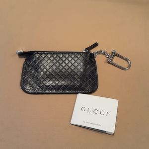 Gucci Diamante Key Pouch